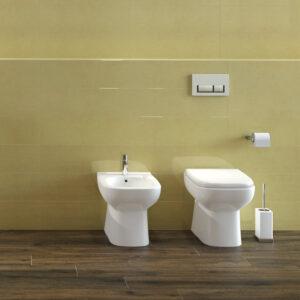 WC a terra bianco lucido Origin