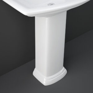 Colonna Lavabo Bianco Lucido Washington