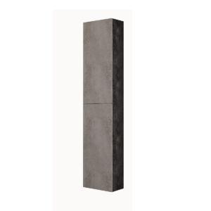 Colonna Sospesa Cemento Chiaro / Cemento Scuro 2 Ante