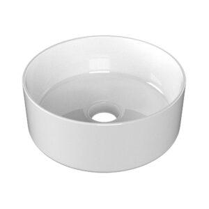 Lavabo Ceramica Bianco Lucido Tondo