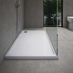 Piatto Doccia Ceramica Bianco Lucido Lif H3 70 X 140 Cm