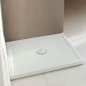 Piatto Doccia Ceramica Bianco Lucido Sessanta H6 80 X 140 Cm