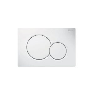 Placca Bianca Sigma 01 Tonda