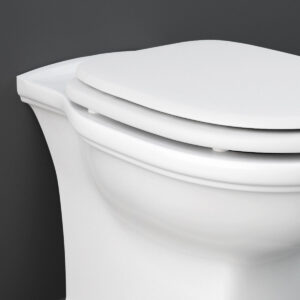 Sedile Copriwater Bianco Lucido Washington