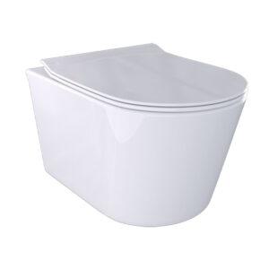 Water Sospeso Rimless Bianco Lucido