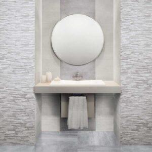 Rivestimento effetto cemento decoro grigio Shabby Wall 20×60