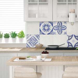 Rivestimento effetto colore Sorrento Bianco Polveri Vietresi Wall 22,5×22,5