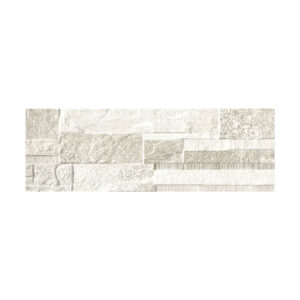 Rivestimento effetto pietra decoro Wall Bianco Emotion 20×60