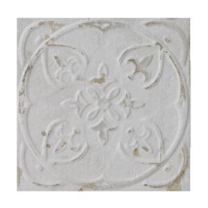Rivestimento effetto cementine bianco victoria 20×20